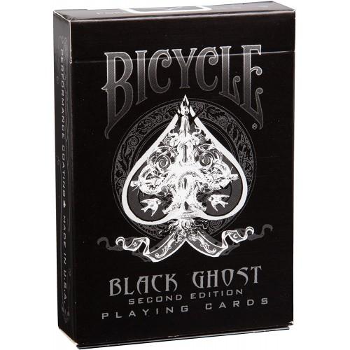 Ghost Black Bicycle