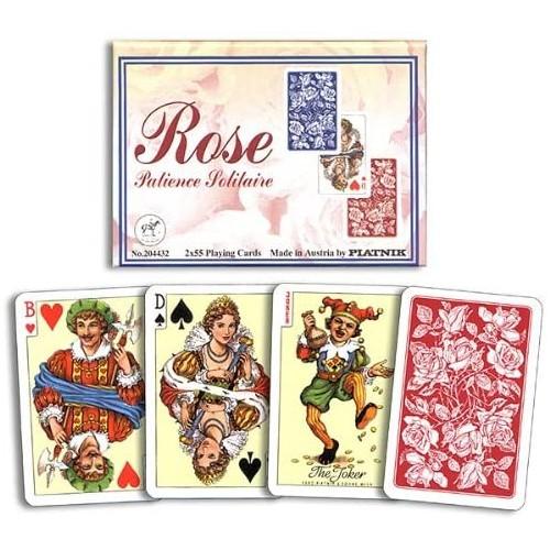 Rose Patience Kartenspiel Wiener Bild