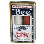Bee Poker Chips 8 g / 3