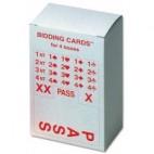 Nachfüllgarnitur für Bidding Box