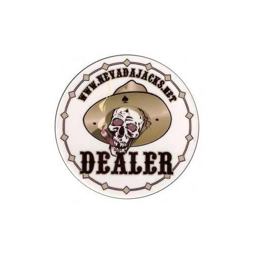 Dealer Button Nevada Jacks