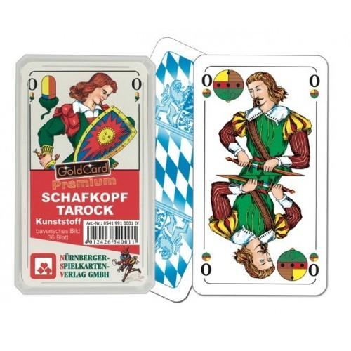 Schafkopf Tarock Premium 100% Plastik