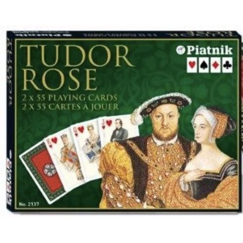 Tudor Rose Spielkarten de Luxe