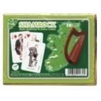 Shamrock Spielkarten de Luxe