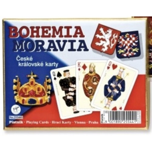 Bohemia/Moravia Spielkarten de Luxe