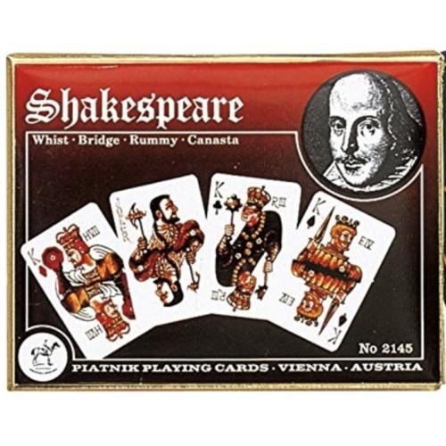 Shakespeare Spielkarten de Luxe