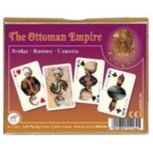 Osmanisch Bridge Spielkarten de Luxe