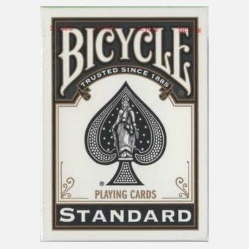 Bicycle Spielkarten Black Poker