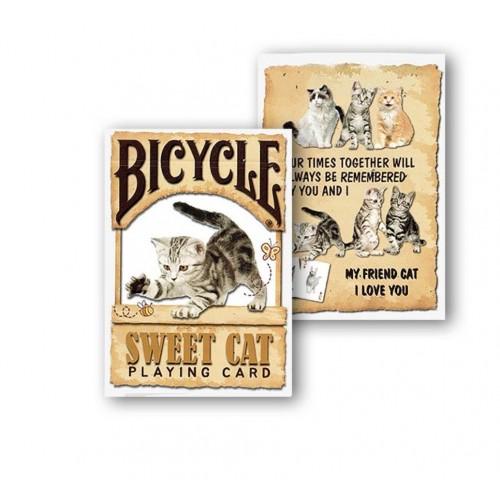 Sweet Cat Spielkarten -Bicycle